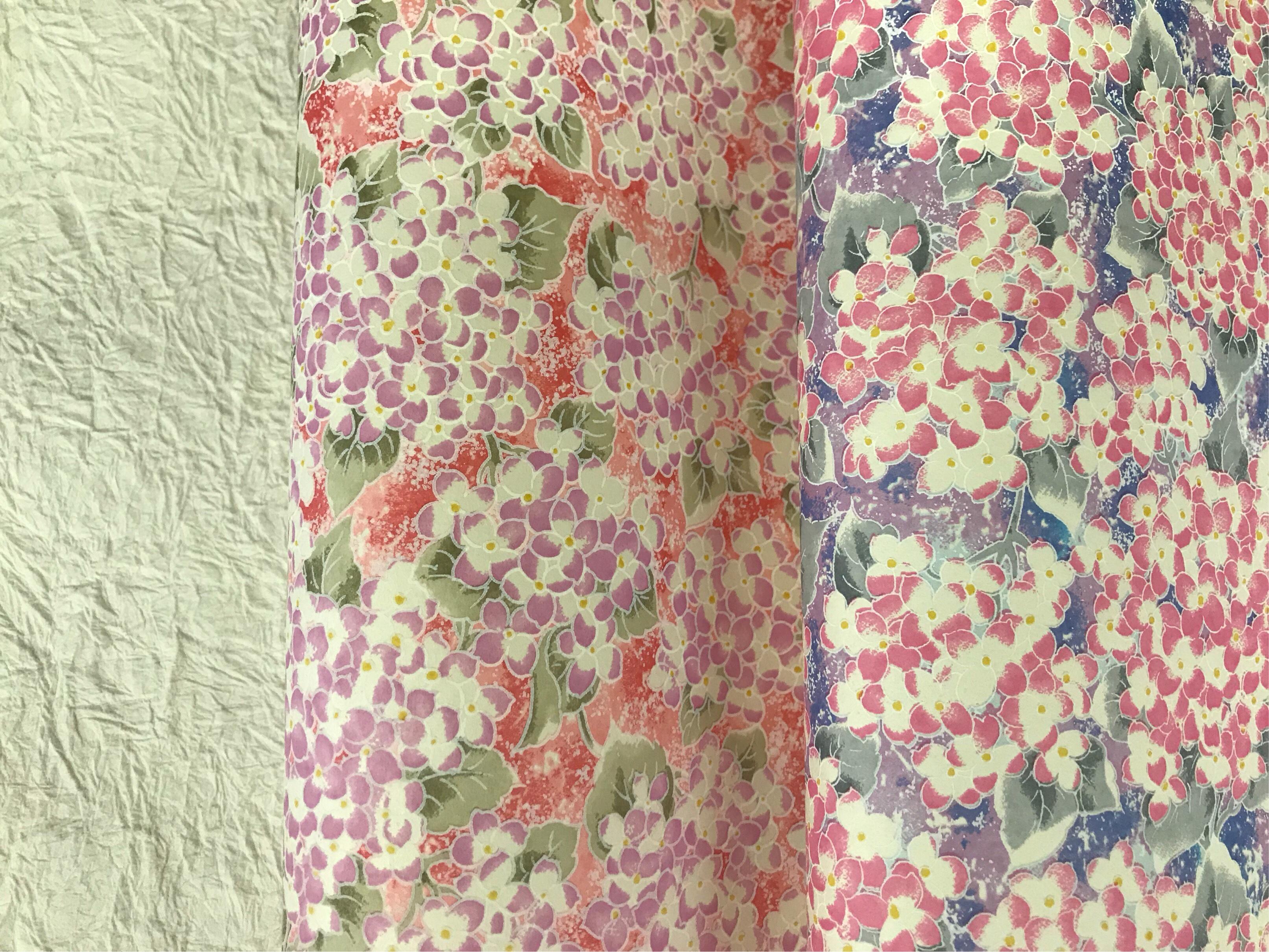 紫陽花 千代紙