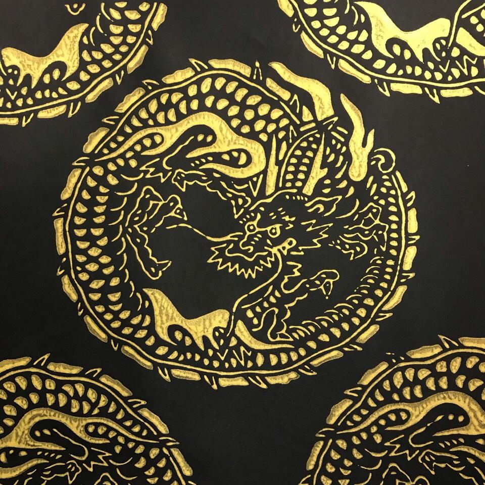 京からかみ 龍神