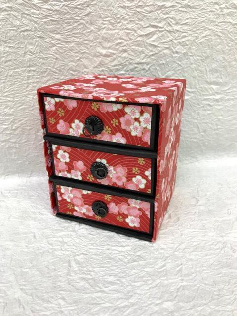 千代紙小箱